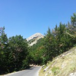 Silnice Njeguši - Mausoleum