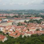 Petřínská rozhledna - pohled na Prahu
