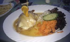 Jídlo restaurace Hotelu Zámeček