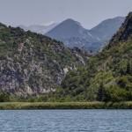 Plavba po řece Cetině