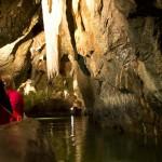 Punkevní jeskyně - lodičky