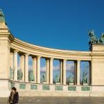 Náměstí hrdinů Budapešť