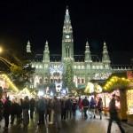 Adventní trhy Vídeň - Rathaus Platz
