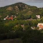 Kozí hrádek - výhled na Svatý kopeček