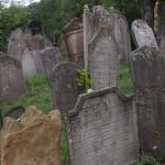 Náhrobky židovský hřbitov