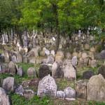 Pohled na židovský hřbitov