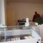 Galerie Závodný vydávací pult zmrzlina