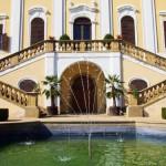 Zámek Milotice - schodiště