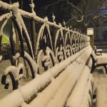 Zimní lavičky Poštorná
