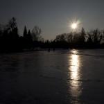 Rybník v lednickém parku