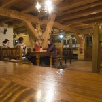 Restaurace hotelu Strachanovka - interiér