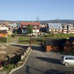Penzion pod Tatrami výhled z apartmánu