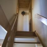 Penzion pod Tatrami schody v apartmánu