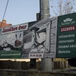 Jánošíkov dvor - reklama