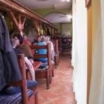 Restaurace výtopna interiér
