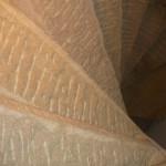 Rozhledna Krkavec - kamenné schodiště