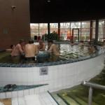 Lázně Györ - nejteplejší bazén