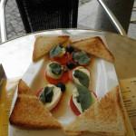 Jídlo restaurace Vanilli Karviná