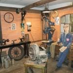 Muzeum Tatra Kopřivnice - dílna