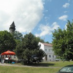 Štramberská trůba - pohled z náměstí
