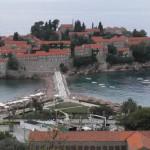 Budva - ostrov Svati Stefan