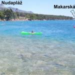 FKK Makarská - poloha