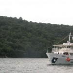 Lodí po Limském zálivu