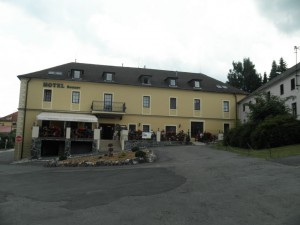 Hotel Bouzov pohled