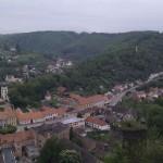 Pohled ze zámku Vranov