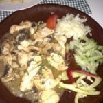 Restaurace Valtická rychta jídlo
