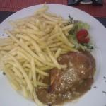 jídlo v restauraci Harmonie