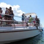 Kraljičina plaža - lodní taxi