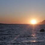 FKK Makarská - západ slunce