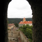 Hrad Veveří výhled