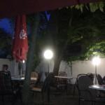 Restaurace Valtická Rychta venkovní posezení