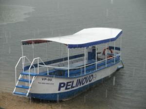 Skadarské jezero - výletní loď