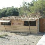 UlcinjUlcinj pláž - internetová kavárna