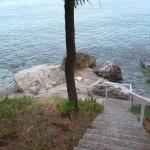 Hotel Zlatna obala - schody k moři