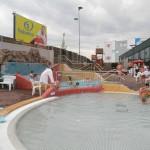 Aquapalace Čestlice - venkovní prostory