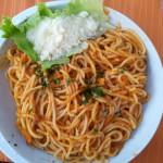 Restaurace BUM BAR Makarska - špagety