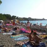 Makarska - městská pláž