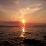 Makarska - západ slunce