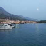 Makarska - večerní přístav