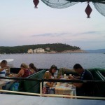 Restaurace Makarski Jadran - paluba