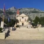 Makarska - kostel