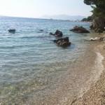 FKK Makarská - vstup do vody