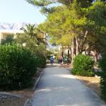 Hotel Rivijera - cesta k bungalovům