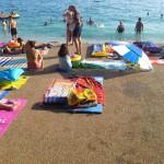 Hotel Rivijera - pláž před hotelem