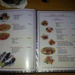 Konoba Decima Makarska - jídelní lístek