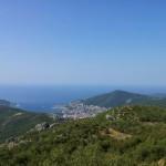 Lovčen - pohled na Kotor